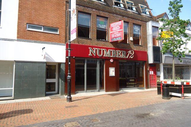 Thumbnail Retail premises for sale in London Street, Basingstoke