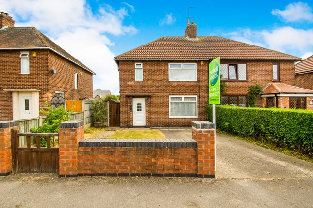 Thumbnail Semi-detached house for sale in Central Avenue, Blidworth, Mansfield