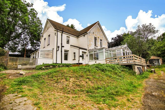 Thumbnail Detached house for sale in Edwardsville, Treharris