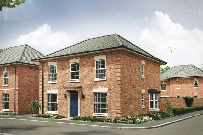 """Thumbnail Detached house for sale in """"The Barnwell Georgian"""" at Davidsons At Wellington Place, Leicester Road, Market Harborough"""