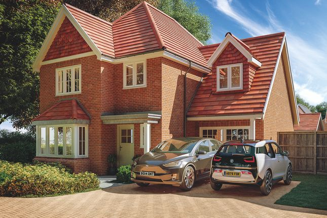 Thumbnail Detached house for sale in The Rana, Willowbrook, Elmbridge Road, Cranleigh, Surrey