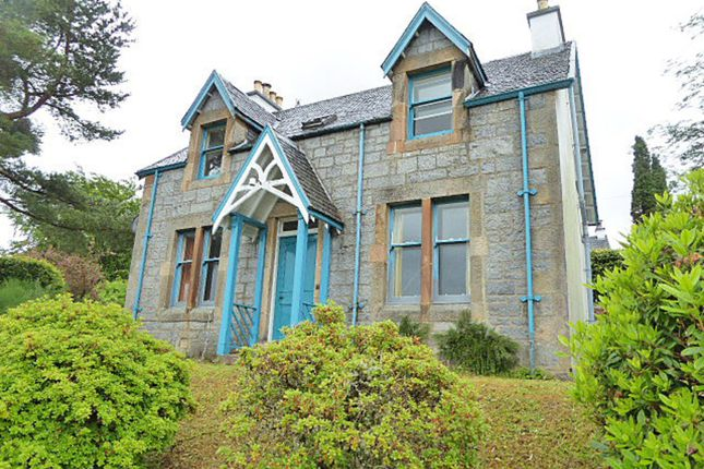 Thumbnail Detached house for sale in Lorne Villa, And Plot At Cameron Road, Fort William