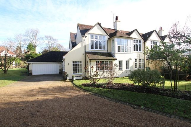 Thumbnail Semi-detached house for sale in High Broom Road, Crowborough, East Sussex