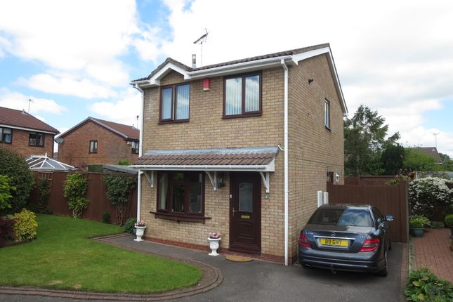 Thumbnail Detached house for sale in Linhope Grove, Meir Park, Staffordshire