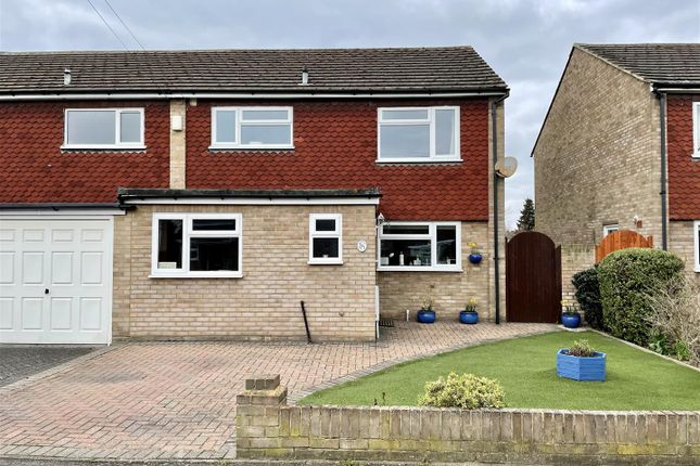 Thumbnail Semi-detached house for sale in Wolsey Road, Sunbury-On-Thames