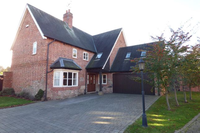 Thumbnail Detached house for sale in Hall Gardens, Church Lane, Hemington, Derby