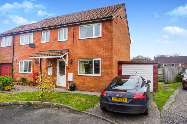 Thumbnail Semi-detached house for sale in Church Meadow, Llantwit Major