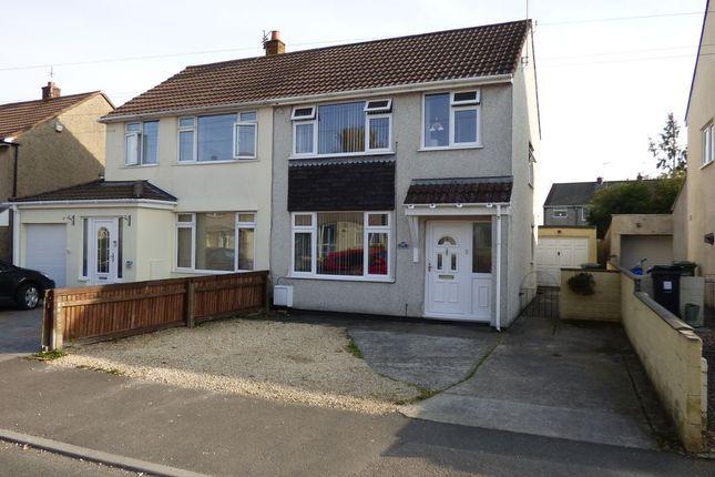 3 bed semi-detached house for sale in Bradley Avenue, Winterbourne, Bristol BS36