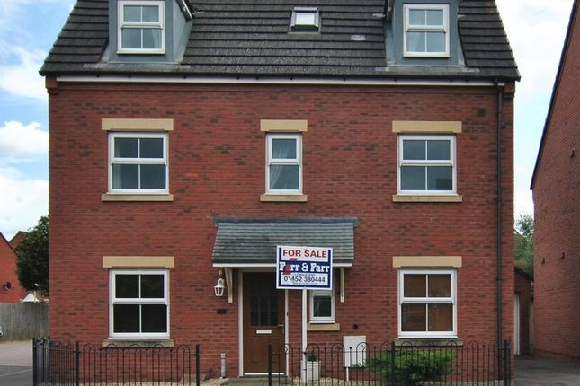 Thumbnail Detached house for sale in Windfall Way, Longlevens, Gloucester