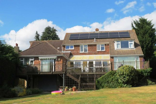 Thumbnail Detached house to rent in Broadlands Close, Calcot, Reading