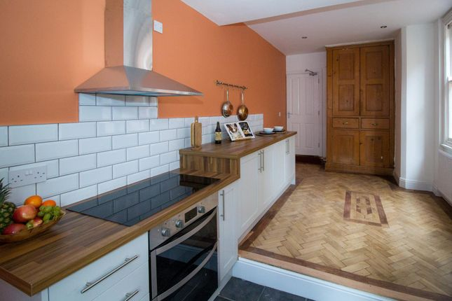 Thumbnail End terrace house to rent in Stanfell Road, Leicester