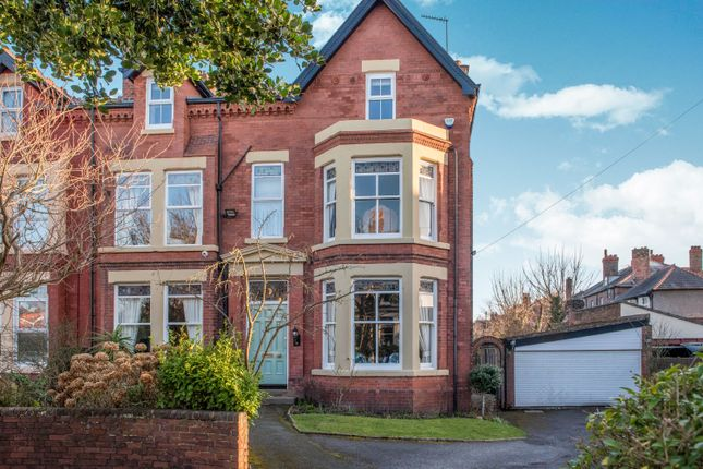 Thumbnail Semi-detached house for sale in Merrilocks Road, Blundellsands, Liverpool