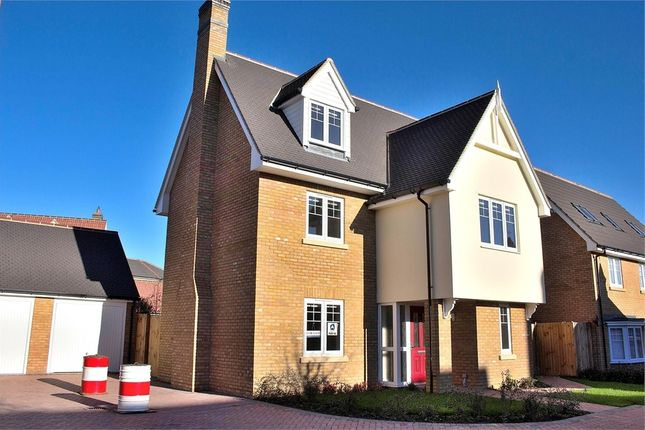 Thumbnail Detached house for sale in Woodlands Park, Great Dunmow, Essex