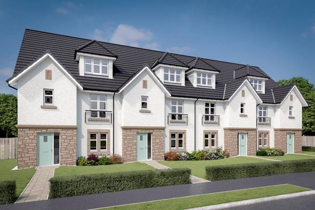 """Thumbnail Terraced house for sale in """"The Cameron"""" at Newmills Road, Balerno"""