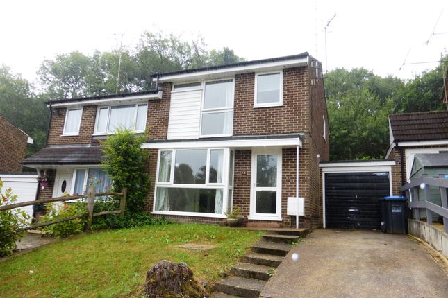 Thumbnail Semi-detached house for sale in Cob Close, Crawley Down, Crawley