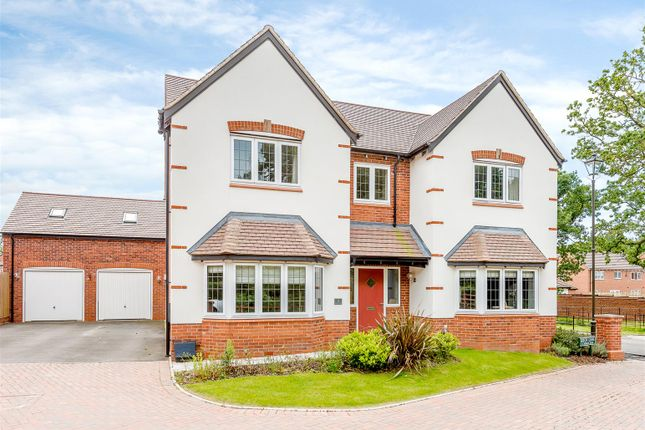 Thumbnail Detached house for sale in Beech Lane, Dickens Heath, Solihull