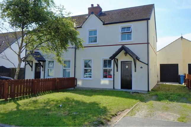 Thumbnail Semi-detached house for sale in Hawthorn Crescent, Ballyhalbert