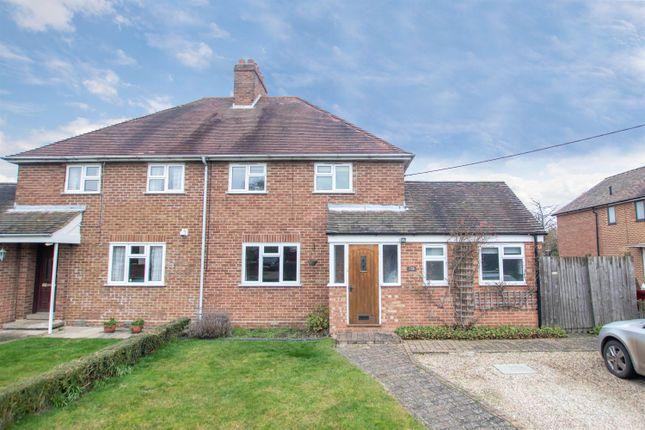 3 bed semi-detached house to rent in Park Lane, Castle Camps, Cambridge CB21