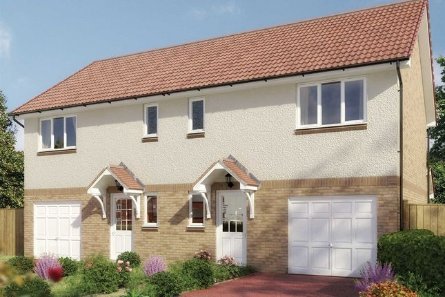 "3 bedroom semi-detached house for sale in ""The Newton"" at Milnathort, Kinross"