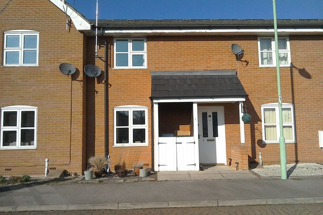 Thumbnail 2 bedroom terraced house for sale in Hailes Meadow, Haughley
