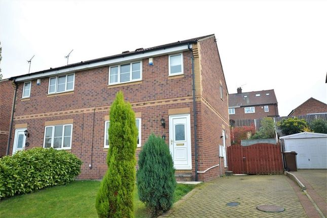 Thumbnail Semi-detached house to rent in Old Mill Close, Hemsworth, Pontefract