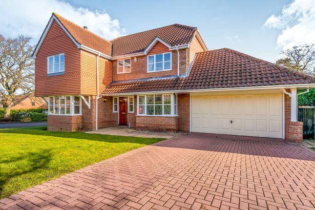 Thumbnail Detached house for sale in Windingbrook Lane, Collingtree Park, Northampton