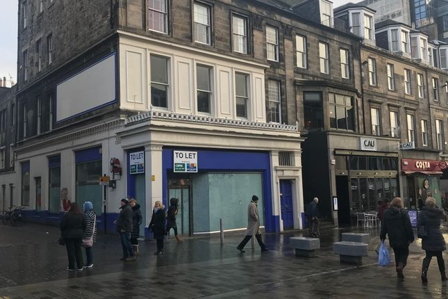Thumbnail Retail premises to let in 19 Castle Street, Edinburgh