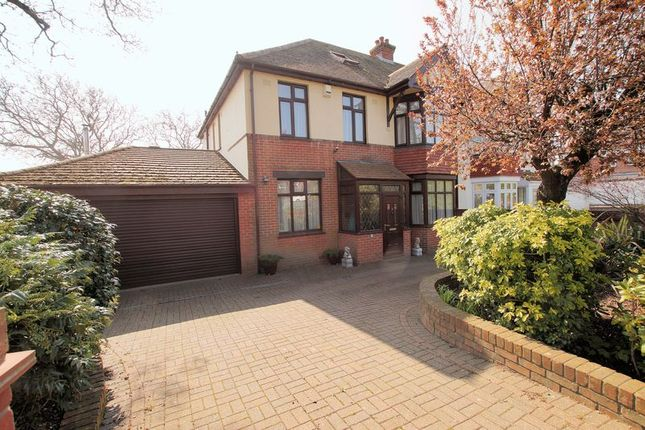 Thumbnail Semi-detached house for sale in Portchester Road, Fareham