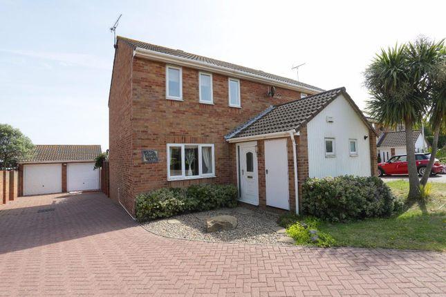 Thumbnail Semi-detached house for sale in Teynham Close, Cliftonville, Margate