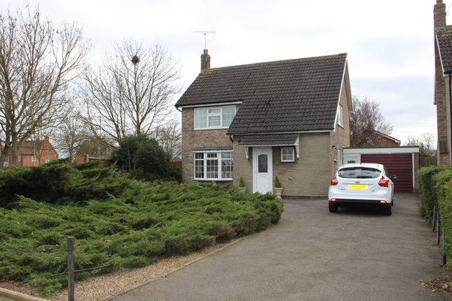 Thumbnail Detached house for sale in Chestnut Way, East Goscote, Leicester