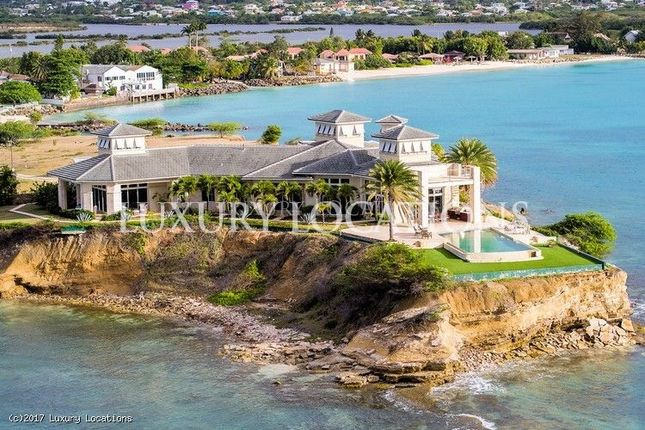 Thumbnail Villa for sale in Ocean Grand Estate House, Saint John, Dickenson Bay, Corbison Point, Antigua, Antigua