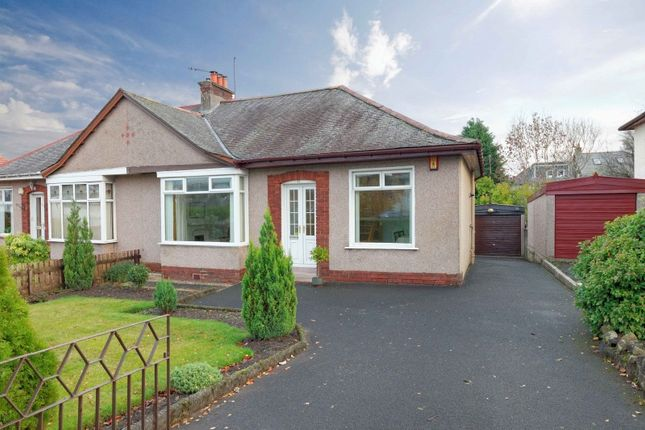 Thumbnail Semi-detached bungalow for sale in Fenwick Road, Giffnock, Glasgow