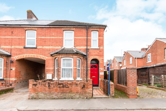 Thumbnail Semi-detached house to rent in Rayleigh Road, Basingstoke