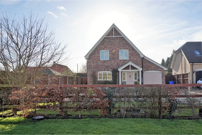 Thumbnail Detached house for sale in Thetford Road, Bury St. Edmunds