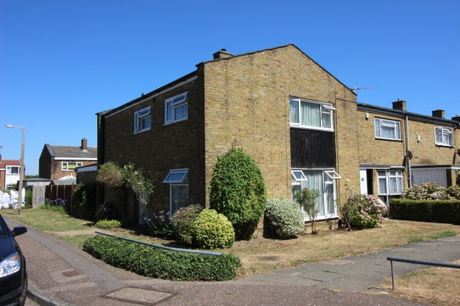 Thumbnail End terrace house for sale in Longfield, Harlow