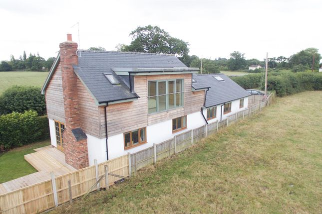 Thumbnail Detached house for sale in Barkers Green, Wem, Shropshire