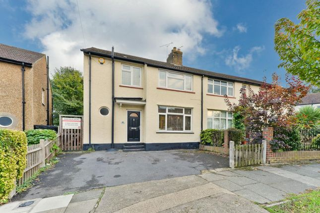 Thumbnail Semi-detached house for sale in Hill Crescent, Surbiton