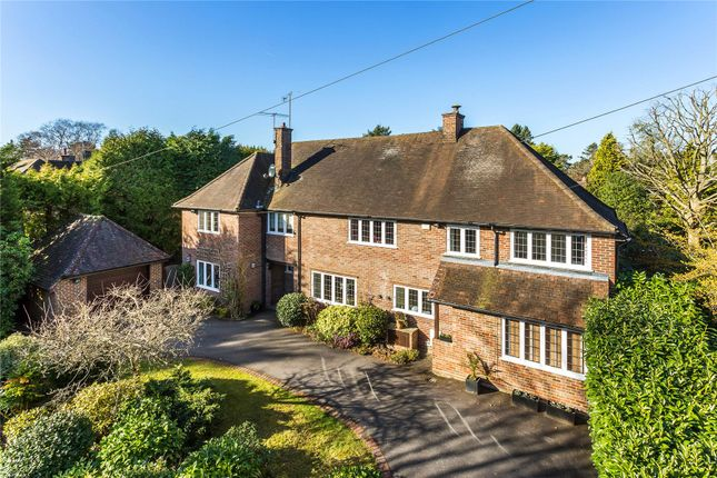 Thumbnail Detached house for sale in Hook Heath, Woking, Surrey