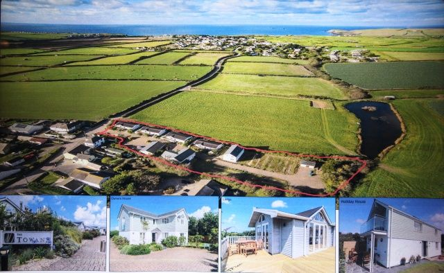 Thumbnail Detached house for sale in St. Merryn, Padstow
