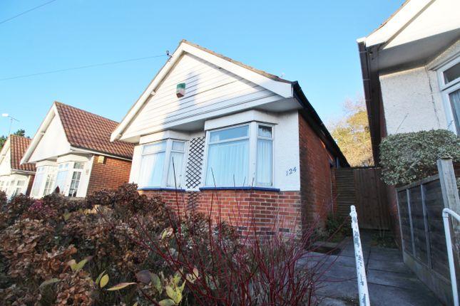 Thumbnail Detached bungalow for sale in Woodmill Lane, Southampton