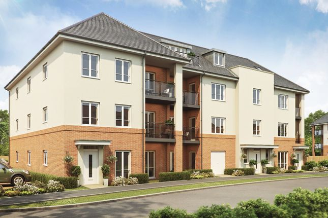 "Thumbnail Flat for sale in ""Heron Court"" at Lady Margaret Road, Ifield, Crawley"