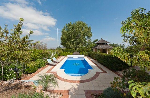 Garden And Pool of Spain, Málaga, Alhaurín El Grande