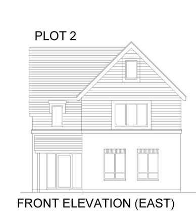 Plot 2 Front Elevation