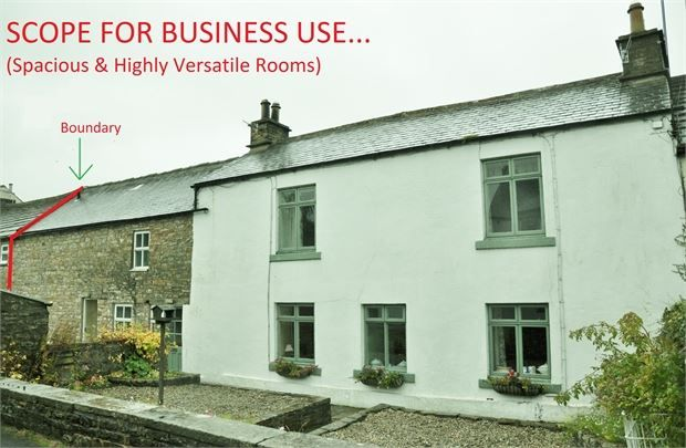 Thumbnail Barn conversion for sale in Bruntley Syke Farm, Garrigill Road, Alston, Cumbria.