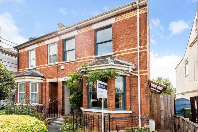 Thumbnail Semi-detached house to rent in Haywards Road, Charlton Kings, Cheltenham