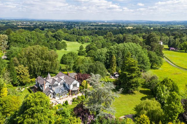 Thumbnail Detached house for sale in Wilmslow Road, Mottram St. Andrew, Macclesfield, Cheshire