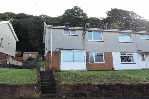 Thumbnail Semi-detached house to rent in Ael Y Fro, Pontardawe, Swansea