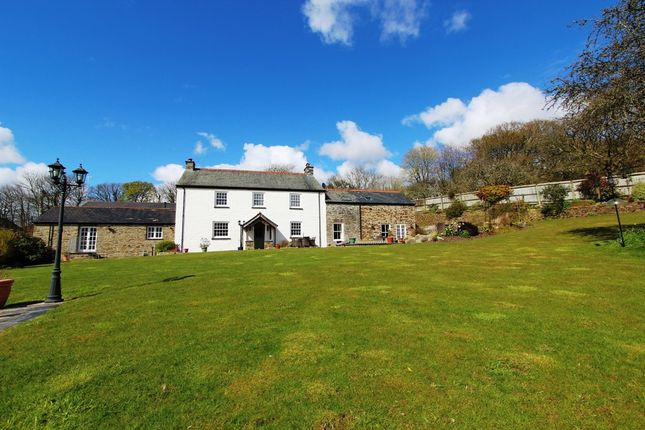 Thumbnail Farmhouse for sale in Lamellion, Liskeard