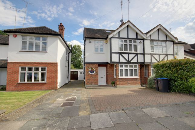 Thumbnail Semi-detached house for sale in Stone Hall Road, Winchmore Hill