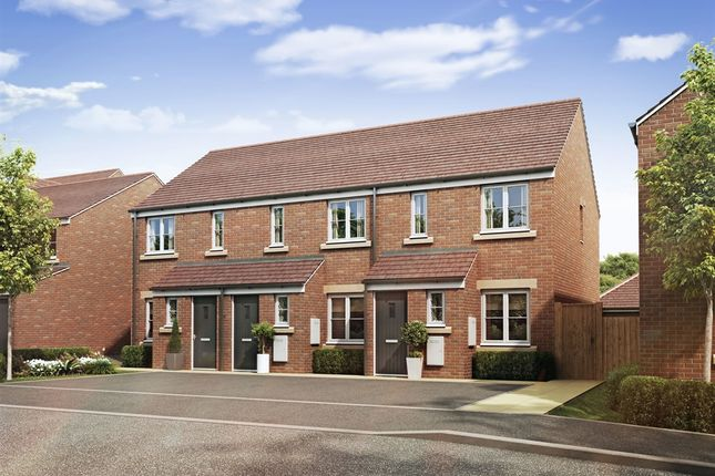 "Thumbnail Terraced house for sale in ""The Barton"" at Theedway, Leighton Buzzard"